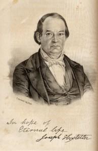 Joseph Hostetler, 1797-1870