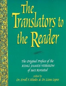 Reprint of Translators to the Reader. All Bible students should read it.
