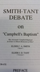 Smith Debate