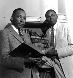 King & Gray during the Montgomery Bus Boycott