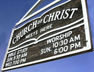 Church of Christ sect 1