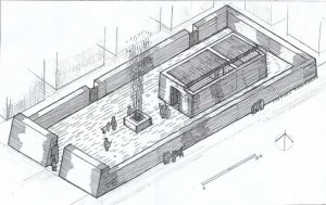 Reconstruction of Elephantie Jewish Temple