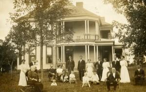 Selina Moore Holman & Dr. Holman & family