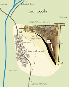 Proposed Map of the Leontopolis Temple
