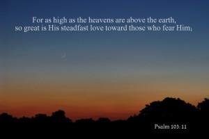 Psalm 103.11