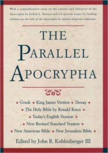 The Apocrypha is available in most English Bible versions except the NIV and NASB. I recommend the NRSV, ESV and TEV for good English reading.