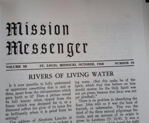 Mission Messenger