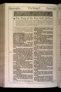 Song of the Three Jews (KJV)