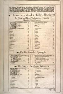 1611 KJV title page