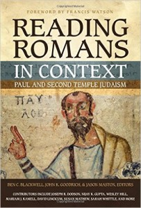 Recent work with short chapters illustrating how Romans coheres and contrasts with Jewish perspectives. Written on an introductory level and thus is very accessible.