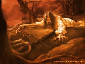 Prayer can be tough ... just ask Jesus